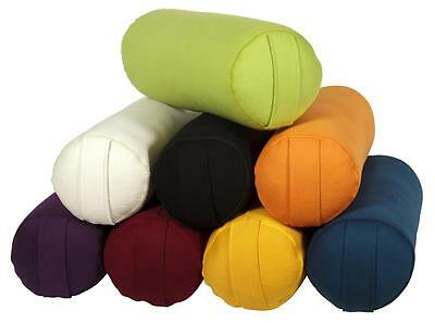 Yoga und Pilates Bolster / Yogakissen GOTS Made in Germany