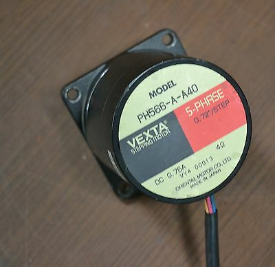 VEXTA PH566-A-A40 5 Phase Stepping Motor