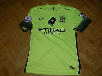 Manchester City  Maillot third 2015/2016 Taille L. N°17 DE BRUYNE
