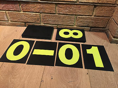 OMP Professional pit board stand and cards (Race)