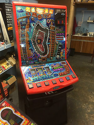 Shark Raving Mad, Barcrest Fruit Machine 10p Play, £5 Jackpot (Delivery £55)