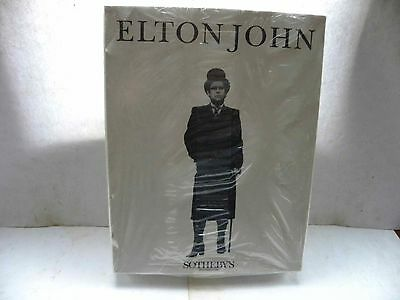 SOTHEBY'S LONDON - ELTON JOHN COLLECTION AUCTION 1988 CATALOGUES x4 BOXED