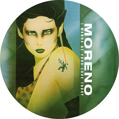 """Moreno """" I Wanna Be Your Lover Today"""""""