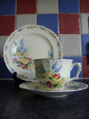 Crown Staffordshire Art Deco Trio Pattern F15350