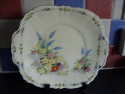 Crown Staffordshire Art Deco Cake Plate Pattern F15350