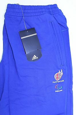 Official Team GB Adidas Sweatpants Joggers Paralympics Beijing 2008 Athlete B4