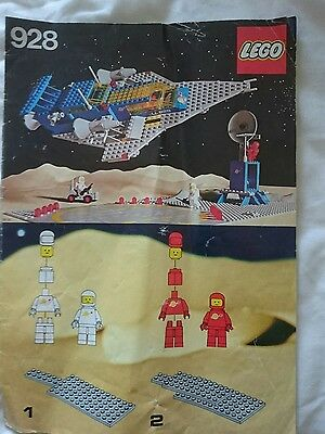 Lego 928 Instructions Only