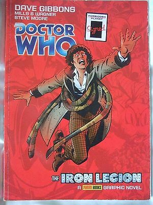 Doctor Who: The Iron Legion by Pat Mills (Signed), John Wagner, Dave Gibbons,