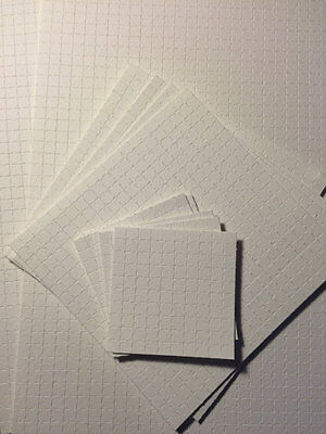 "Blank Perforated Acid Free Blotter Paper 7.5"" x 10"" sheet"