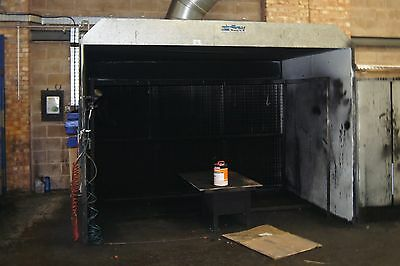"""Air Flow Industrial Spray Booth & Motor Approx. 8"""" x 8"""" x 9"""" FREE DELIVERY"""