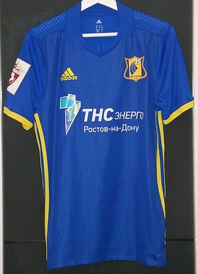 Fc Rostov (Russia) Match Worn Shirt Russian League Gatskan Moldova