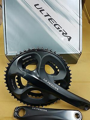 New Shimano Ultegra Fc-6750 Compact Chainset 50/34 Double Racing Road Tt Cx Bike