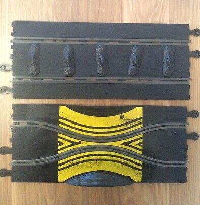 Scalextric Track Vintage Chicane And Rumble Strip Rare