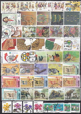 Thailand, 1991-1992 Selection Commemorative Stamps, Issued 1991-1992, Used