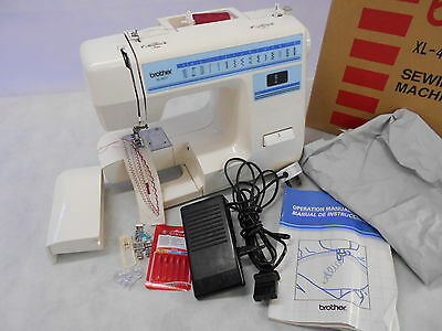 Lightweight Brother XL-4011 Electric Domestic Sewing Machine