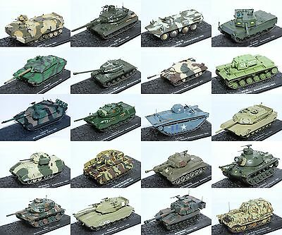 1:72 Scale Military Vehicle Precision Diecast Collectable Model Tank New #2