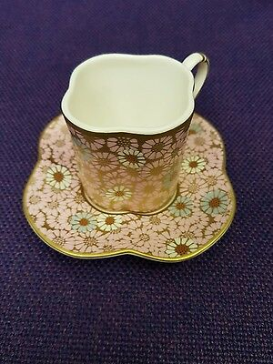 Wedgwood ~ Harlequin Collection ~ Scallop Daisy Cup & Saucer ~ BOXED & New