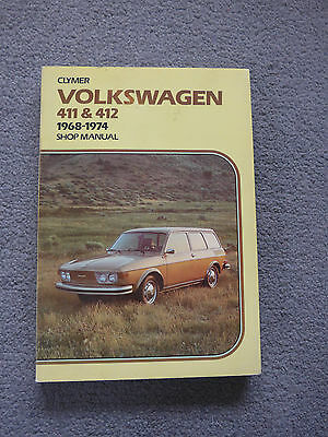 VW 411 & 412 Manual by Clymer