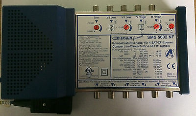 Spaun 5 In x 6 Out SMS 5602 NF - satellite signal multiswitch