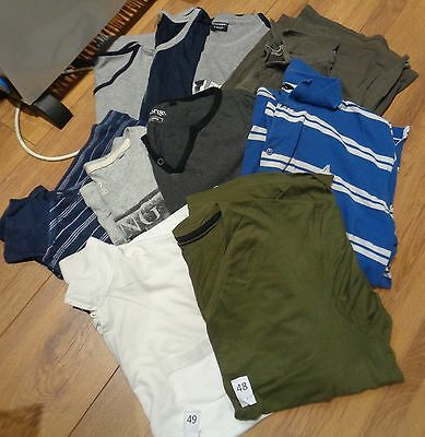 mens t-shirts bundle x10 XLg mixed colours all excellent condition