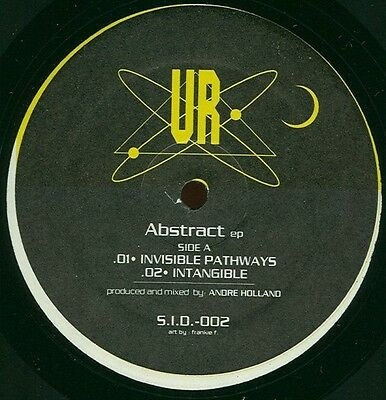 "UNDERGROUND RESISTANCE ‎'Abstract EP' vinyl 12"" - S.I.D.002 - 1995"
