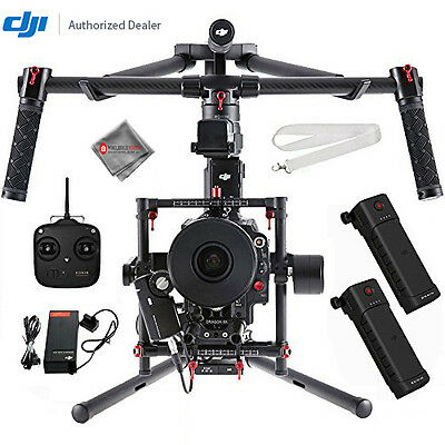 DJI Ronin-MX 3-Axis Gimbal Stabilizer 2 Battery BUNDLE!!