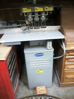 Challenge EH-3A 3-Spindle Paper Drilling Machine