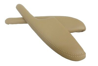Door Panel Armrest Leather Synthetic Cover for Acura MDX 01-06 Beige