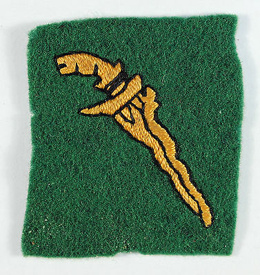Malaya Command - British Troops Embroidered Formation Sign Badge
