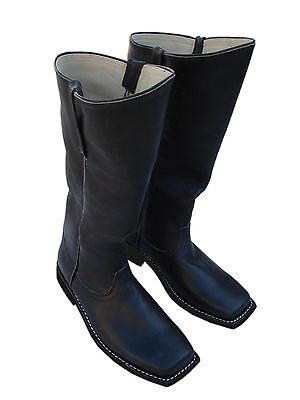 Cavalry / Infantry Boots, Black Leather Size UK 9 US 10