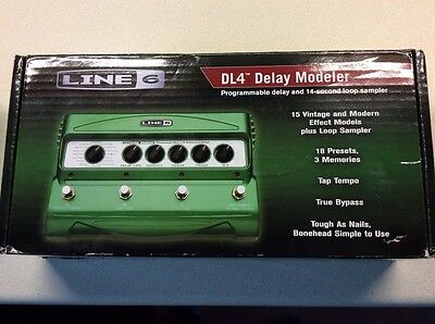Line 6 DL4 Delay And Looper Box Power Superb Condition Like DD20