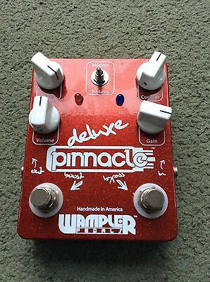 Wampler Pinnacle DeLuxe Great Condition Distortion Overdrive Boost