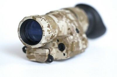Night Vision Scope Optronics 2x30 Night Vision Monocular Desert Camo.