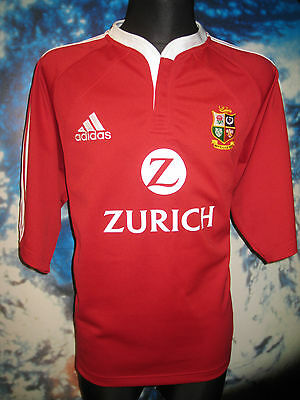 VINTAGE British Lions RUGBY SHIRT 2005 New Zealand HOME Jersey Maillot Adidas XL
