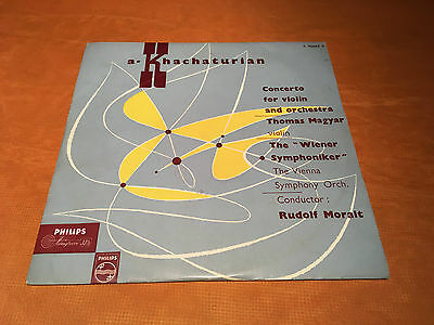 1 x LP a, Khachaturian,Concerto for violin and orchestra,Philips,Top Zustand