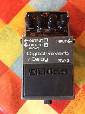 Boss RV-3 Digital Reverb And Delay