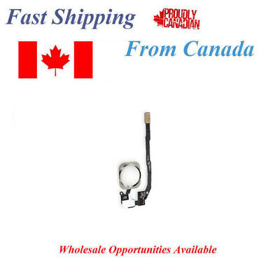 Apple iPhone 5S Home Button With Flex Cable Assembly White