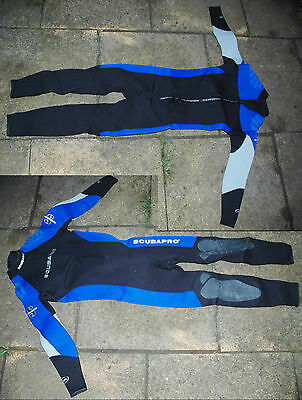Scubapro Pacific diving wetsuit 3mm S/48 used once in pool
