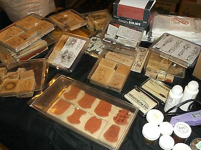 Large Lot Of 163 Stamps And Supplies
