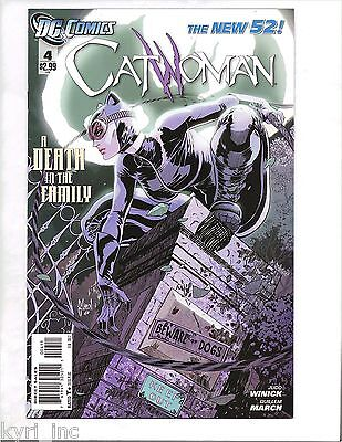 CATWOMAN #4 1st PRINT A DEATH IN THE FAMILY NEW 52 DC COMICS A