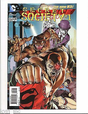 Justice League #23.4 Secret Society #1 Standard Cover Not 3-D New 52 Dc X7