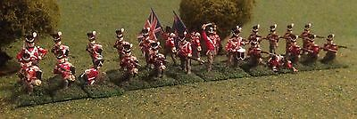 British 4th Kings Own.              . napoleonic / Waterloo 1/72 Scale. Painted.