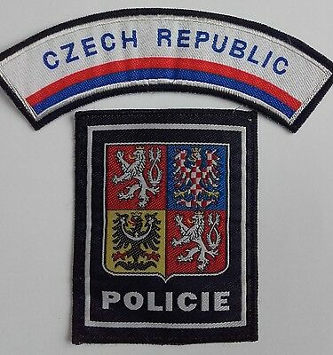 Czech Republic shoulder title and patch-Insignia-TRF