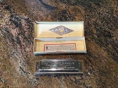 The CHROMONICA harmonica made by M. Hohner made in Germany original box