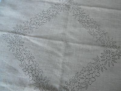 Cushion cover , Printed for Embroidery,