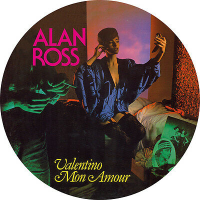"""Alan Ross · Valentino Mon Amour"""" Picture Disc Edition"""