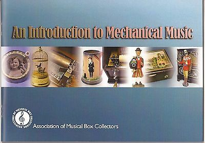 Book - An Introduction to Mechanical Music. Polyphon Musical Box Pianola