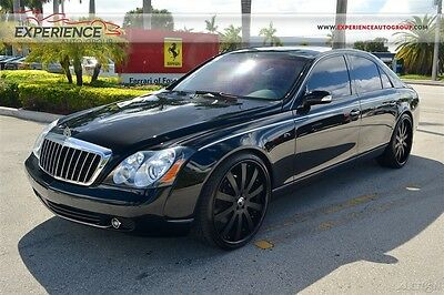 2008 Maybach 57 S Rear Entertainment Coolbox Picnic Tables Power Rear Side Curtains Controls