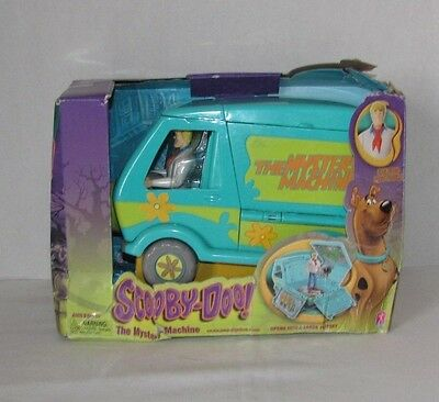Scooby Doo The Mystery Machine Playset With Fred Action Figure - New w/ Defects