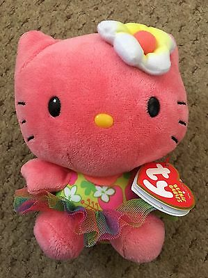 Ty Hello Kitty Plush Beanie Babies. New With Tags!